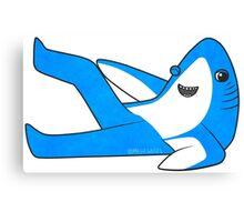 Saucy Superbowl Shark Canvas Print