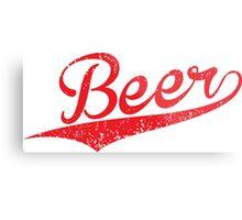 VINTAGE Beer Metal Print