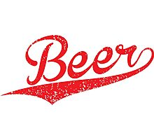 VINTAGE Beer Photographic Print