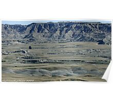 #591  Terrain Of The Badlands Poster