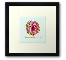 Georgia O'Wreath Framed Print