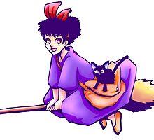 Kiki's Delivery Service by roxitora