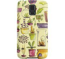 Indoor Plants and Pots Samsung Galaxy Case/Skin
