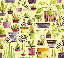 Indoor Plants and Pots by Chloe Fennell