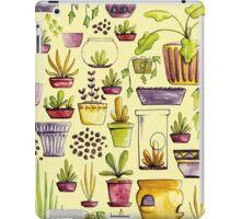 Indoor Plants and Pots iPad Case/Skin