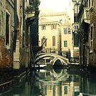 Quiet Water on Venice Canal by Shaina Lunde