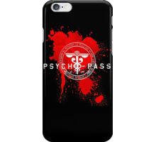 Psycho-Pass Logo iPhone Case/Skin