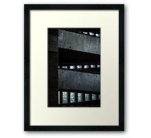 Light Triangles Framed Print