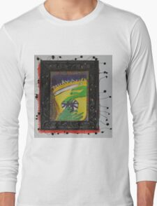 Oh Oh - Green Hands Long Sleeve T-Shirt