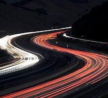 Highway Lights by Radek Hofman