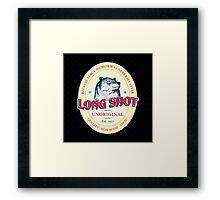Long Shot  Framed Print