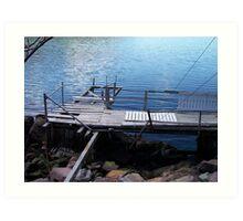 Old Dock  Art Print