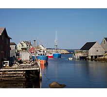 Village of Peggy's Cove Photographic Print