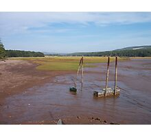Bay of Fundy Tidal Flats Photographic Print