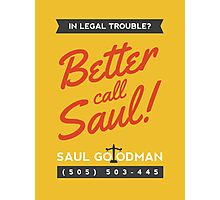 Better Call Saul | Breaking Bad Photographic Print