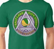 """Deo Favente"" SLC Basketball Unisex T-Shirt"