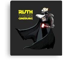 Ruth Vader Ginsburg Canvas Print