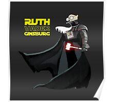 Ruth Vader Ginsburg Poster