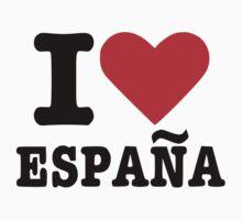 I love España Spain Kids Tee