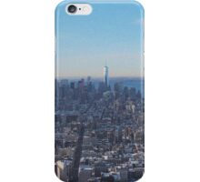 Downtown Manhattan Shot from The Empire State Building iPhone Case/Skin