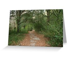 Muckross House grounds in Autumn Greeting Card