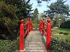 Japenese gardens bridge by John Quinn