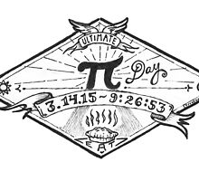 Ultimate Pi Day 2015. Pi. Pie. by betsystreeter