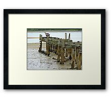 Low Tide At Fahan Pier..........................................Ireland Framed Print