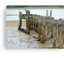 Low Tide At Fahan Pier..........................................Ireland Metal Print