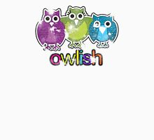 owlish retro  Womens Fitted T-Shirt