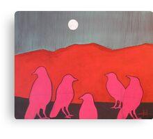 Pink Murder  Canvas Print