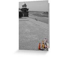 Colours of India Greeting Card