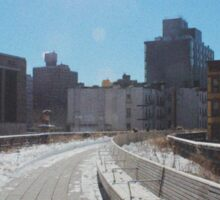 The Highline, Disused converted rail track NYC Sticker