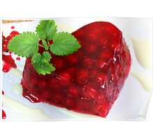 Sweet Hearts With Red Currants Poster
