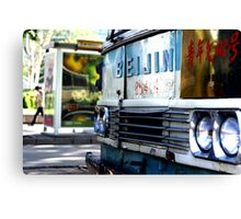 Beijing Bus Canvas Print