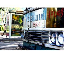 Beijing Bus Photographic Print