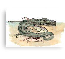 Serpentia ichneumonia (clean version) Canvas Print