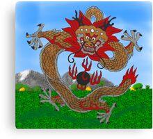 Imperial Dragon Canvas Print