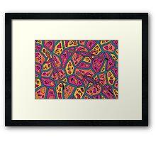 Barni - (goanna) jalalay season (spring)  Framed Print