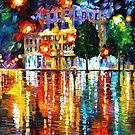 Lost Square — Buy Now Link - www.etsy.com/listing/221765563 by Leonid  Afremov