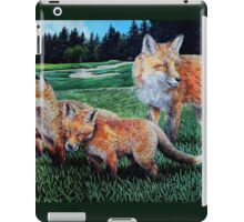 A Sly Foursome On The Fairway iPad Case/Skin