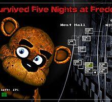 Five Nights at Freddy's Survivors T-Shirt by mugshotsandtees
