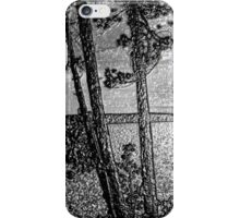 Sunset At The Lake - Embossed-Available As Art Prints-Mugs,Cases,Duvets,T Shirts,Stickers,etc iPhone Case/Skin