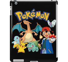 Ash Pokemon Team iPad Case/Skin