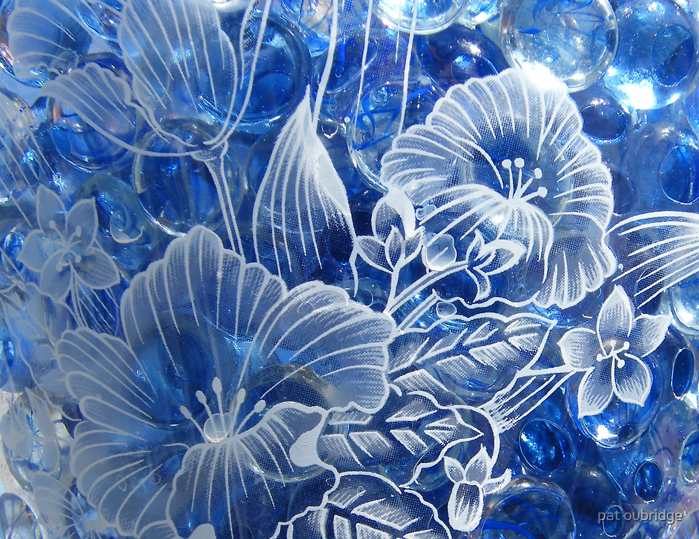 Engraved Glass by pat oubridge