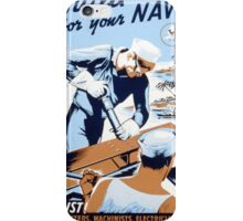 Build For Your Navy iPhone Case/Skin