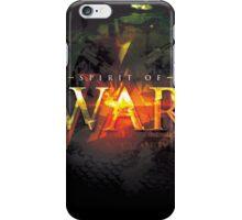 Spirit of War iPhone Case/Skin