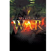 Spirit of War Photographic Print
