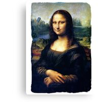 Mona Lisa Restored Canvas Print