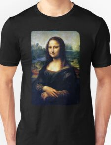 Mona Lisa Restored Unisex T-Shirt
